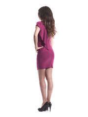 Dress Fuschia Silver Rope 4