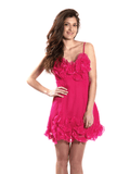 Dress fuchsia