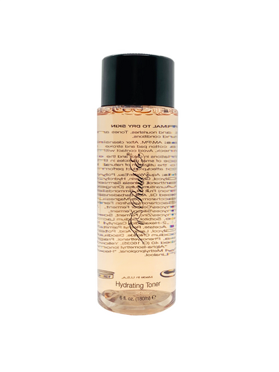 Hydrating Toner -Nourishes - Botanical Blend -Sweeps away makeup.