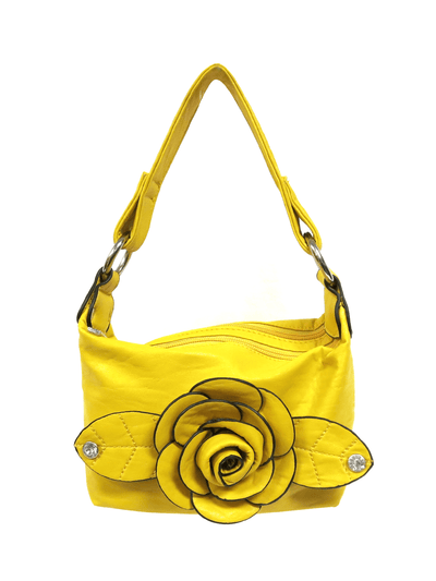 Yellow Rose Small Handbag.