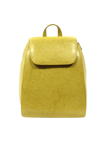 Mini Backpack Yellow.