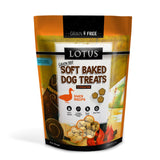 Lotus Duck Recipe Soft Baked Dog Treats 10oz