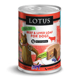 Lotus Grain Free Beef Loaf Dog Food