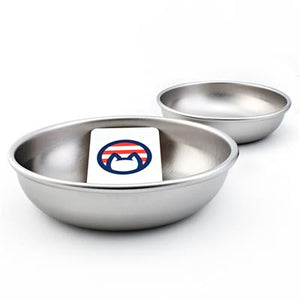 Stainless Steel Cat Bowls - Safe - Made in USA