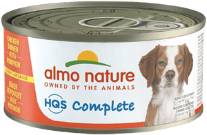 Almo Nature Complete Chicken w/ Pumpkin Dog Food- 5.5oz