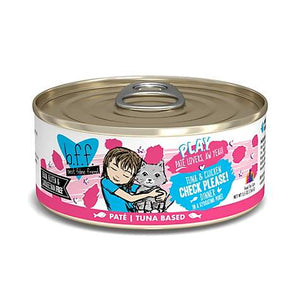 Weruva B.F.F. P.L.A.Y. Check Please! Tuna & Chicken Dinner in a Hydrating Puree Wet Cat Food