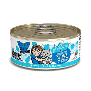 Weruva B.F.F. P.L.A.Y. Til' Then Chicken & Tuna Dinner in a Hydrating Puree Wet Cat Food