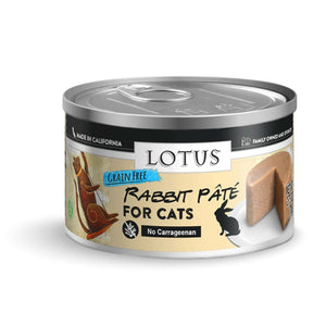 Lotus Grain Free Rabbit Pate Cat Food