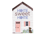 Large Rustic House Sign - Home Sweet Home