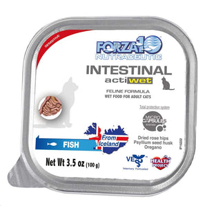 FORZA10 Actiwet Intestinal Fish Canned Cat Food 3.5oz