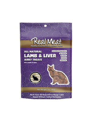 The Real Meat Company Lamb & Liver Jerky Cat Treats
