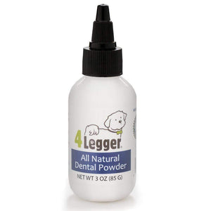 4 Legger Mint Fresh All Natural Dental Powder Vegan Toothpaste Alternative