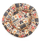 Mutts & Mittens Fabric Round Beds