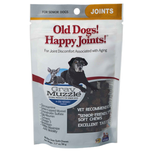 Ark Naturals Gray Muzzle Old Dogs! Happy Joints!