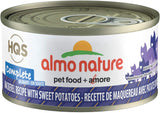 Almo Nature Complete Mackerel w/Sweet Potatoes Cat Food- 2.5oz