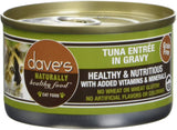 Dave's Naturally Healthy G.F Cat Food Tuna Entrée 3oz
