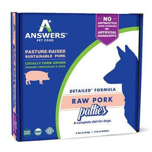 Answers Raw Pork Formula