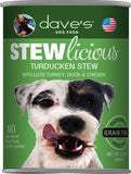 Dave's Stewlicious Turducken Dog Food 13oz