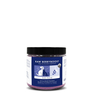 Kin+Kind RAW BERRYBOOST (UTI Support Supplement for Dogs and Cats)