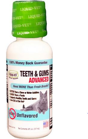 Liquid-Vet Feline Teeth & Gums Advanced Formulas, 8 oz