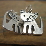Sterling Silver Little Spot The Dog Earrings