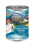 Nutrisource Chicken & Rice Can 13 oz