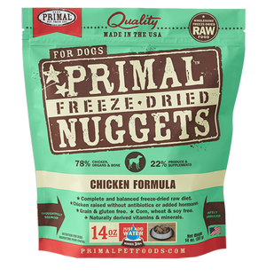 Primal Raw Freeze-Dried Canine Chicken