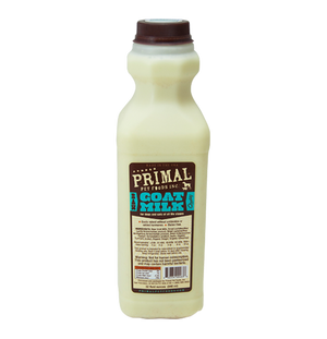 Primal Raw Goat Milk for Cats & Dogs
