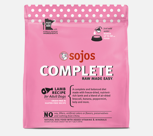 Sojos Complete Lamb Dog Food Recipe