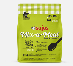 Sojos Fruit and Veg Pre-Mix 2lbs