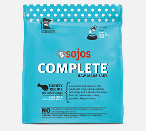 Sojos Complete Dog Food Turkey Recipe