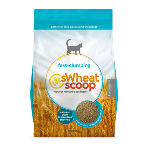 sWheat Scoop - Fast-Clumping Cat Litter