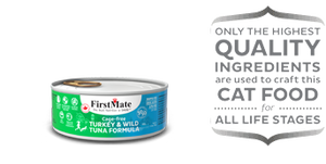 First Mate Cage Free Turkey & Wild Tuna 50/50 Formula for Cats
