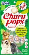 Inaba Churu Pops Tuna with Chicken 4pk