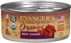 Evangers Organics Beef Cat Food 5.5oz