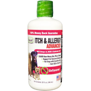 Liquid-Vet Canine Itch & Allergy Advanced 8oz