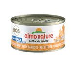 Almo Nature Complete Chicken w/Carrots Cat Food- 2.5oz