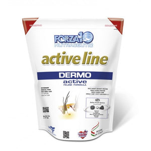 FORZA10 Active Line Dermo Dry Cat Food 4lbs