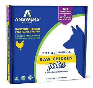 Answers Raw Chicken Formula