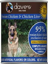 Dave's 95% Premium Meats Canned Dog Food—Chicken 13oz