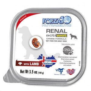 FORZA10 Renal Lamb Canned Dog Food 3.5oz