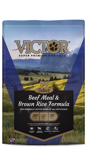 Victor Beef Meal & Brown Rice Formula