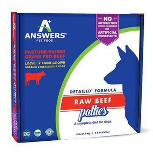 Answers Raw Beef Formula