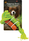 Tugging Bone Natural Rubber Rope Dog Toy From 4BF