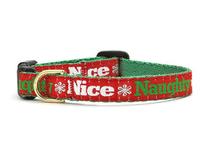 Christmas Naughty & Nice Breakaway Cat Collar