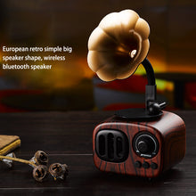 Load image into Gallery viewer, Mini Portable Wooden Bluetooth Speaker - Trendyy Studio