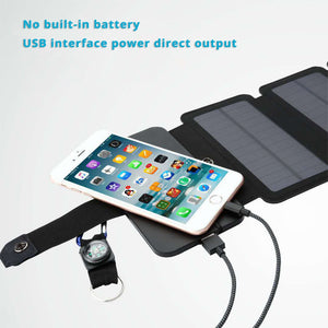 Portable Folding Solar Panel USB Charger - Trendyy Studio