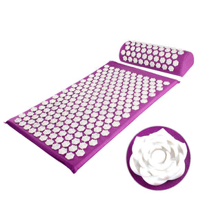 Acupressure Massage Mat & Pillow - Trendyy Studio