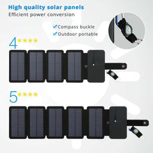 Load image into Gallery viewer, Portable Folding Solar Panel USB Charger - Trendyy Studio