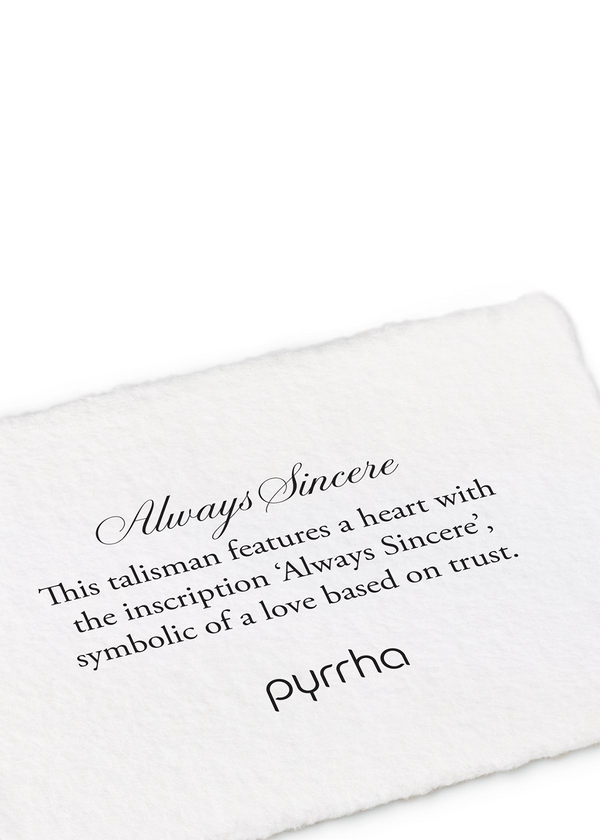 Always Sincere | Silver